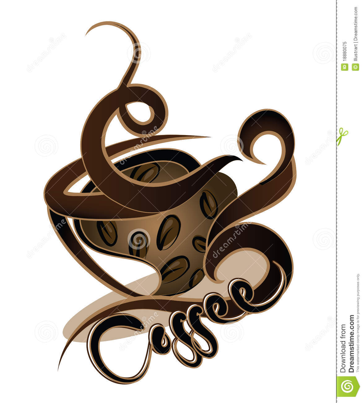 Coffee Design Royalty Free Stock Photo Image 18880075