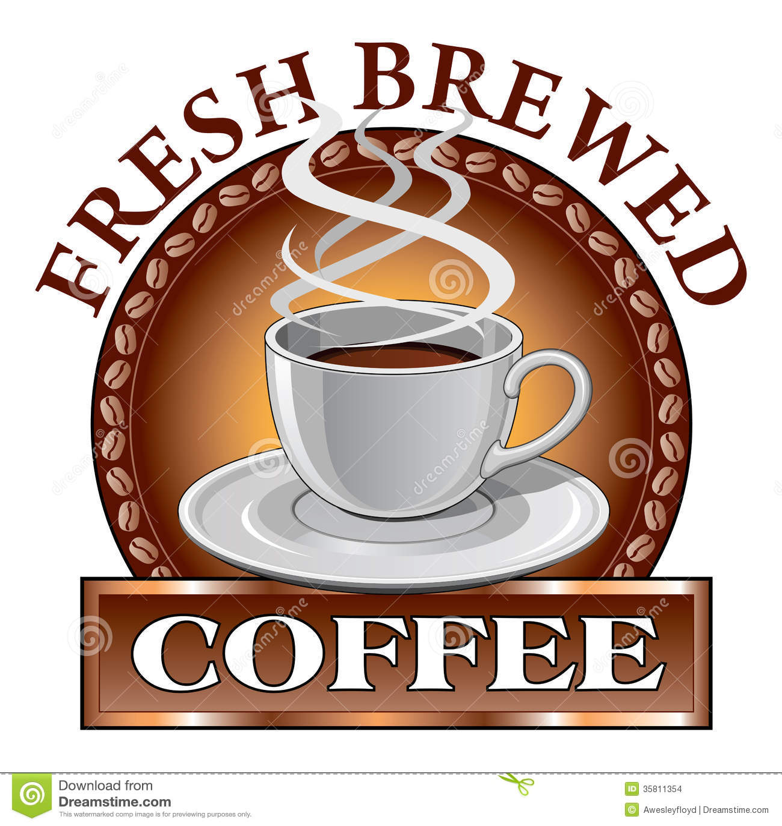 Coffee Design Fresh stock vector. Illustration of design ...