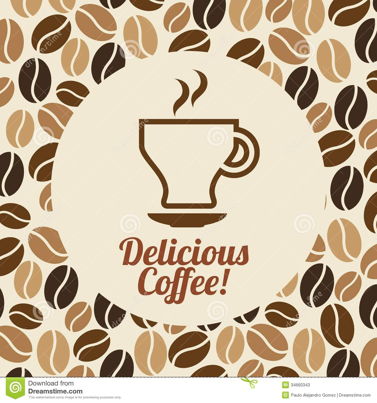 Coffee Design Stock Vector Image Of Restaurant Breakfast
