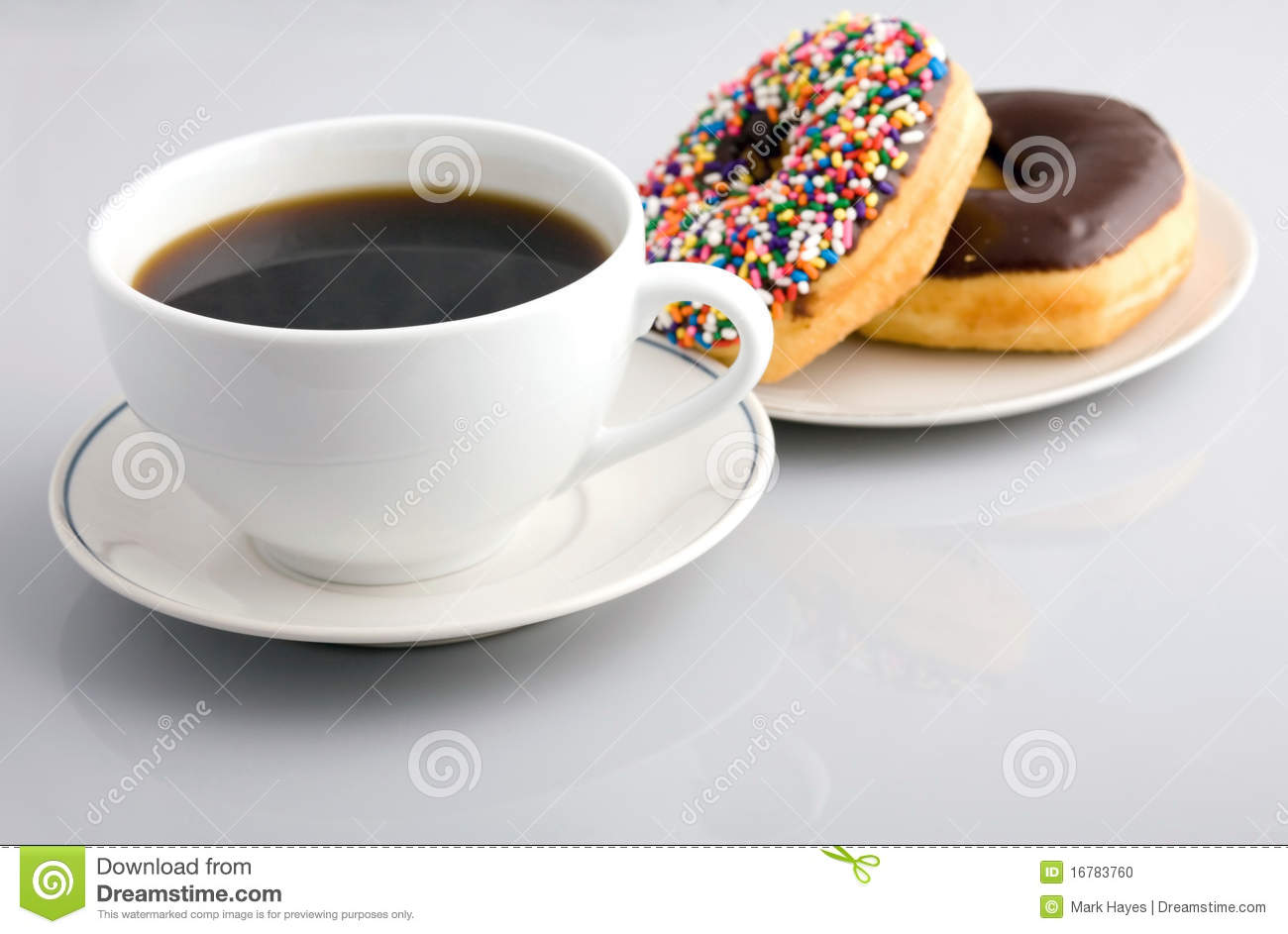 Coffee And Donuts Stock Photo - Image: 16783760