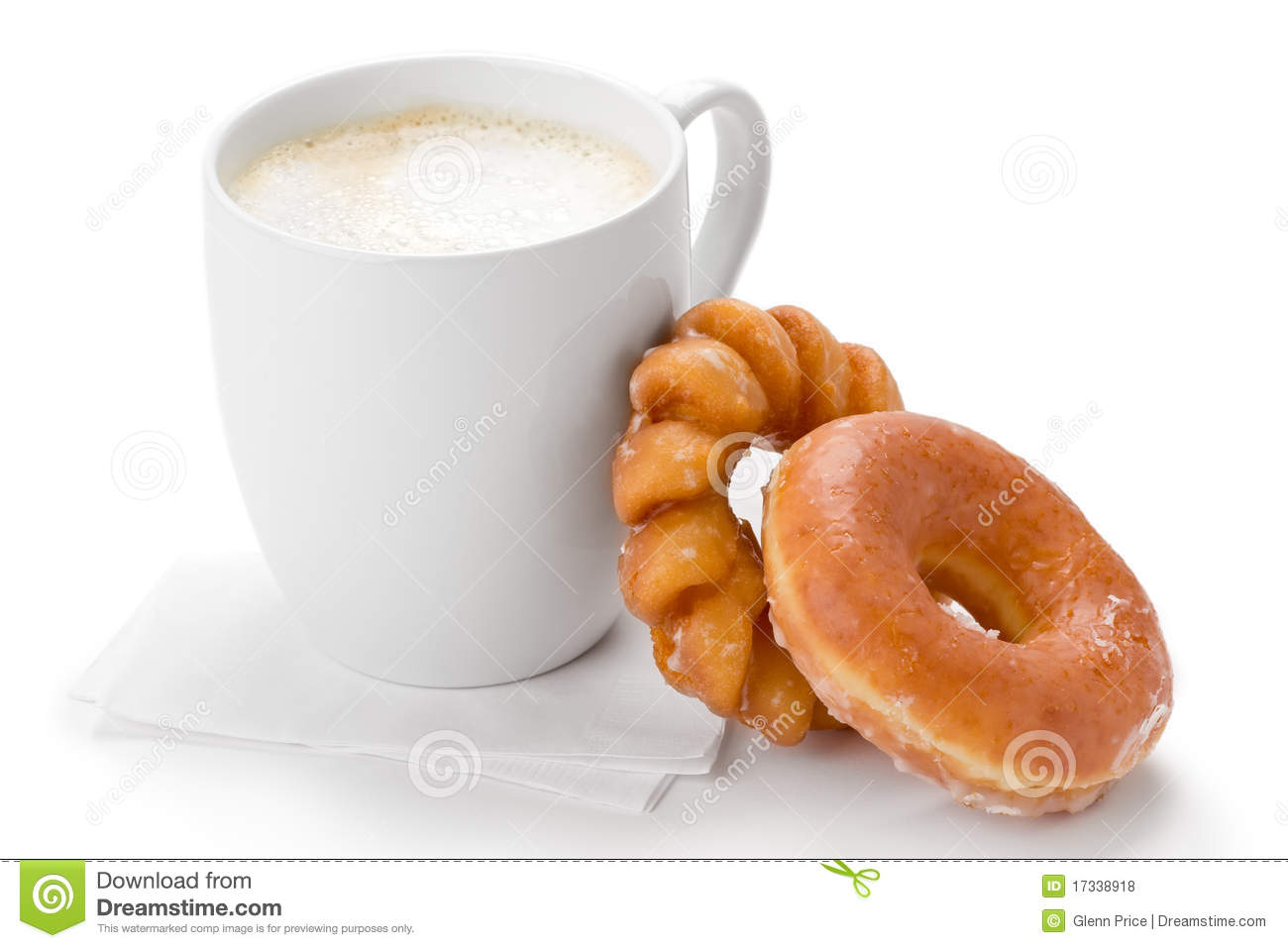 Coffee And Donuts Royalty Free Stock Photos - Image: 17338918