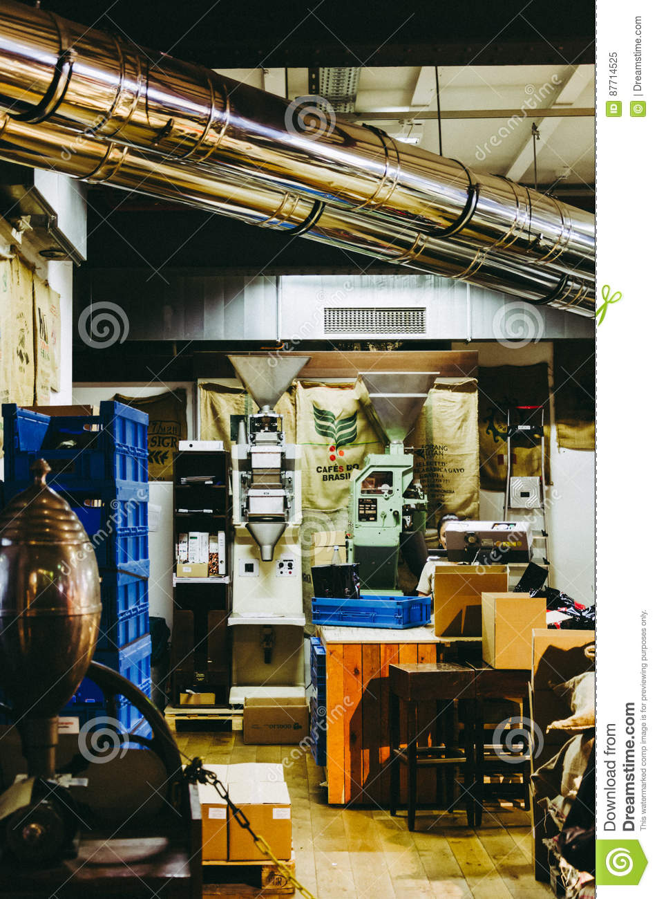 Coffee Factory In Hamburg Editorial Image Image Of Factory