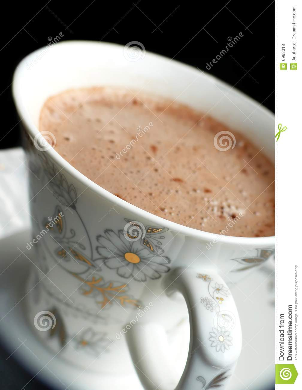Coffee With Foam Royalty Free Stock Photos - Image: 6963018