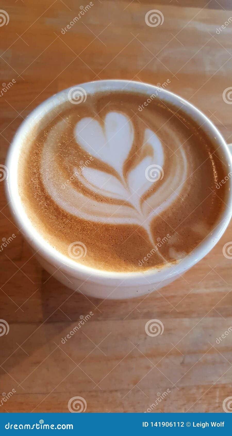 Coffee Foam Flower