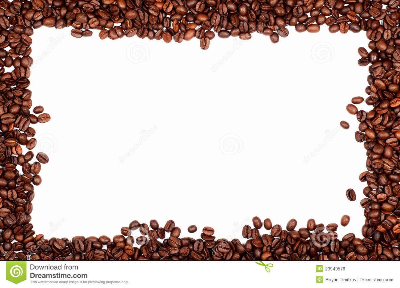 coffee frame royalty free stock image image 23949576