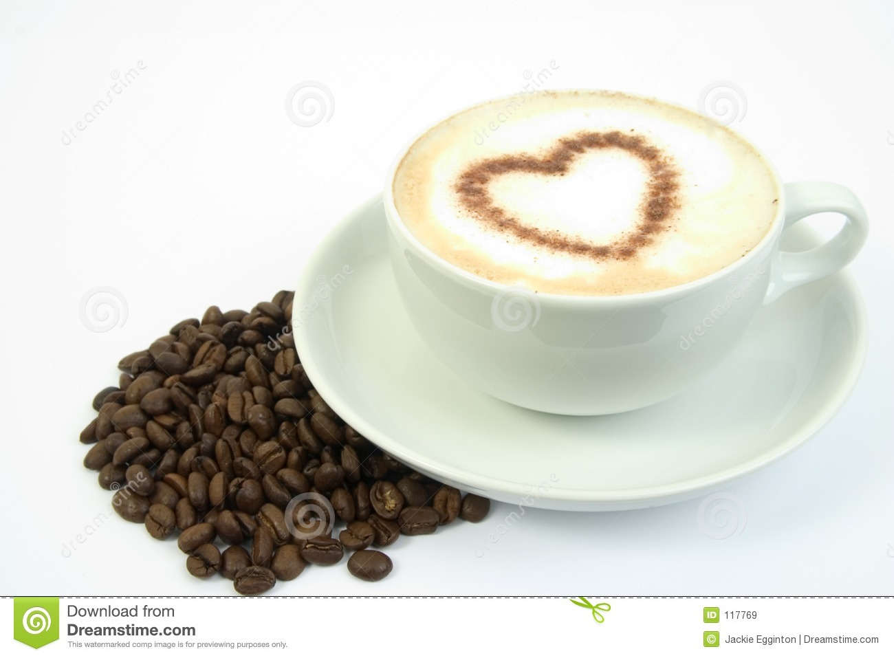 Coffee Heart Royalty Free Stock Images Image 117769