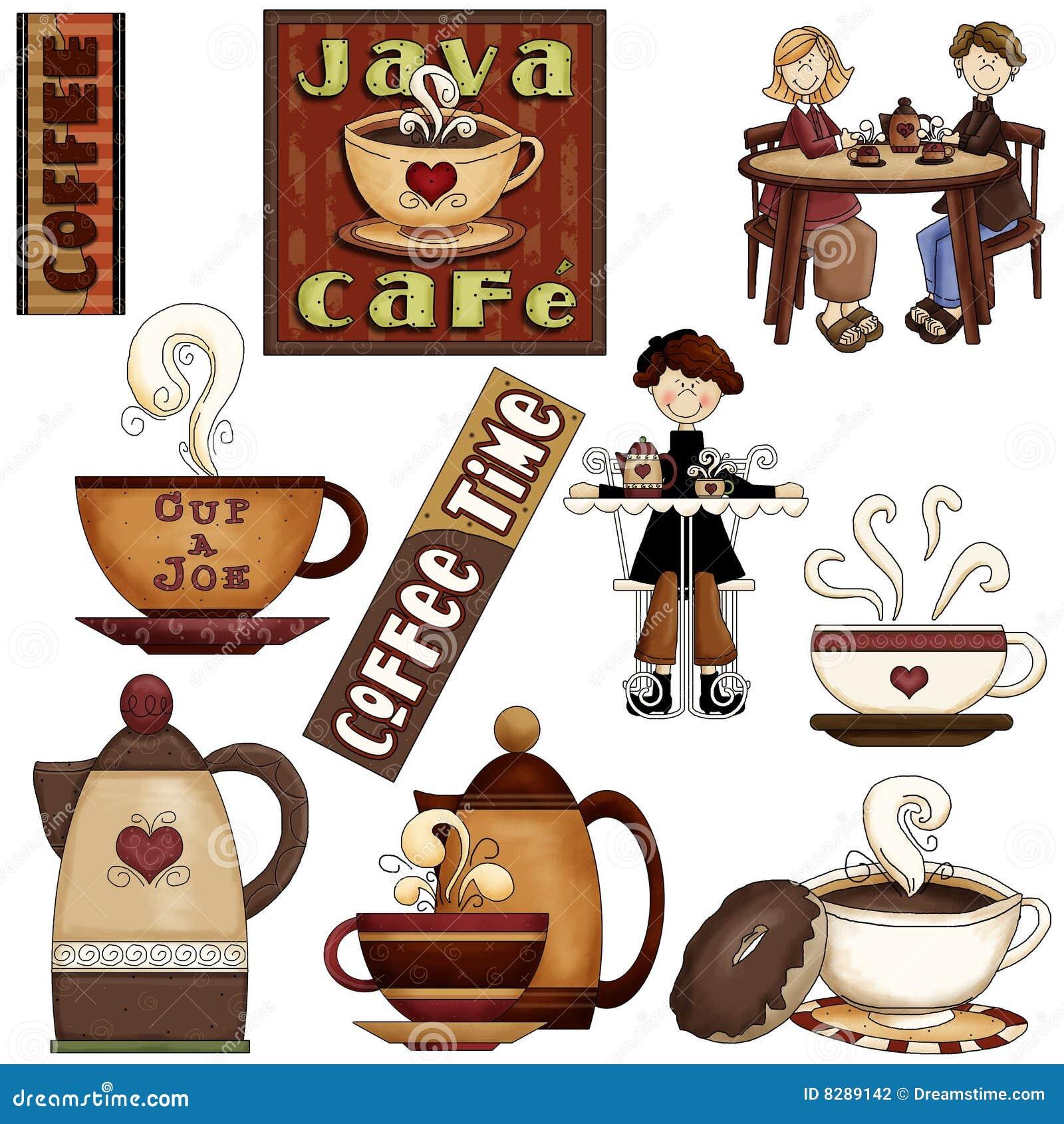 Marlo Furniture Coffee House Graphics Stock Illustration Image Of