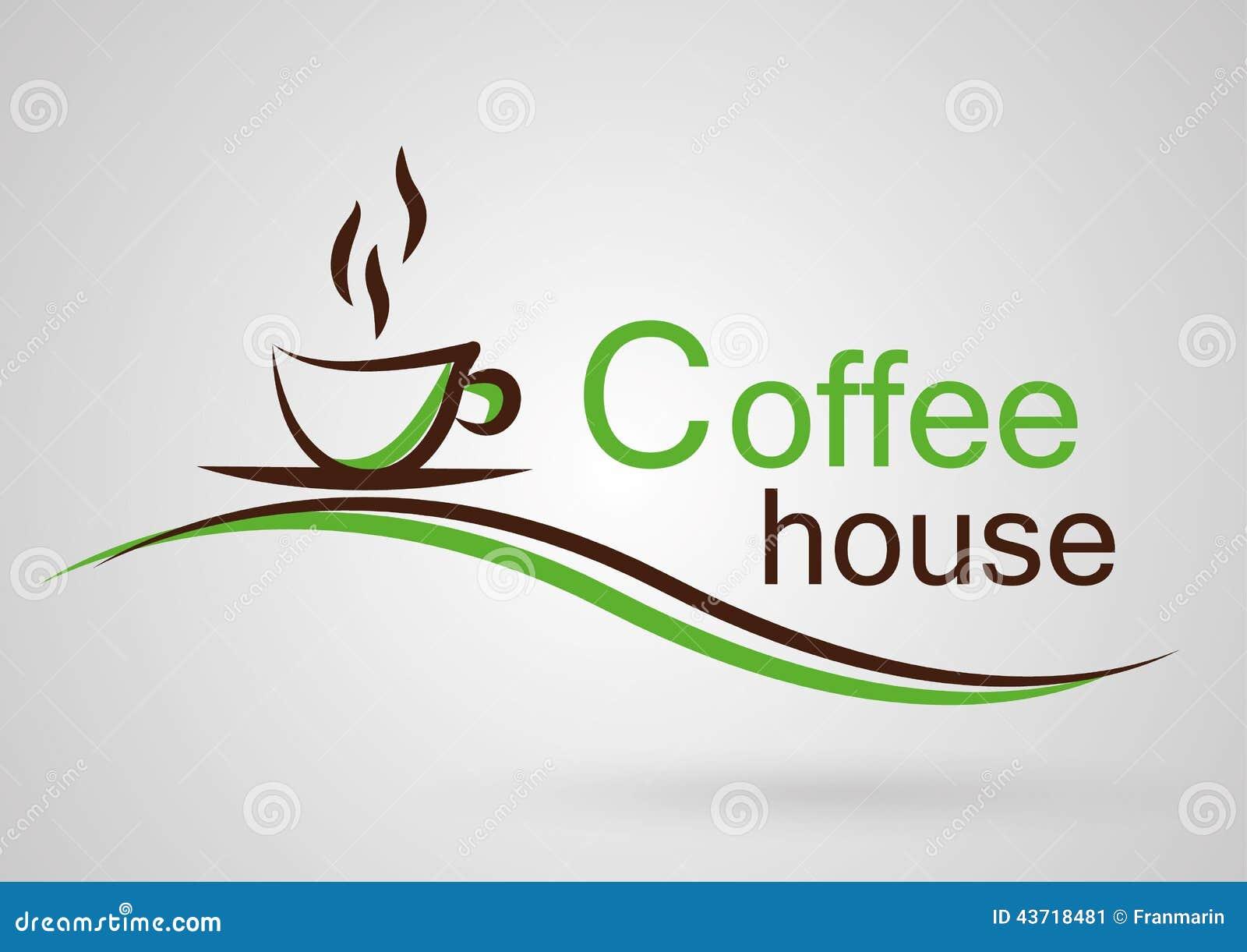 Coffee House Logo Stock Vector Image 43718481