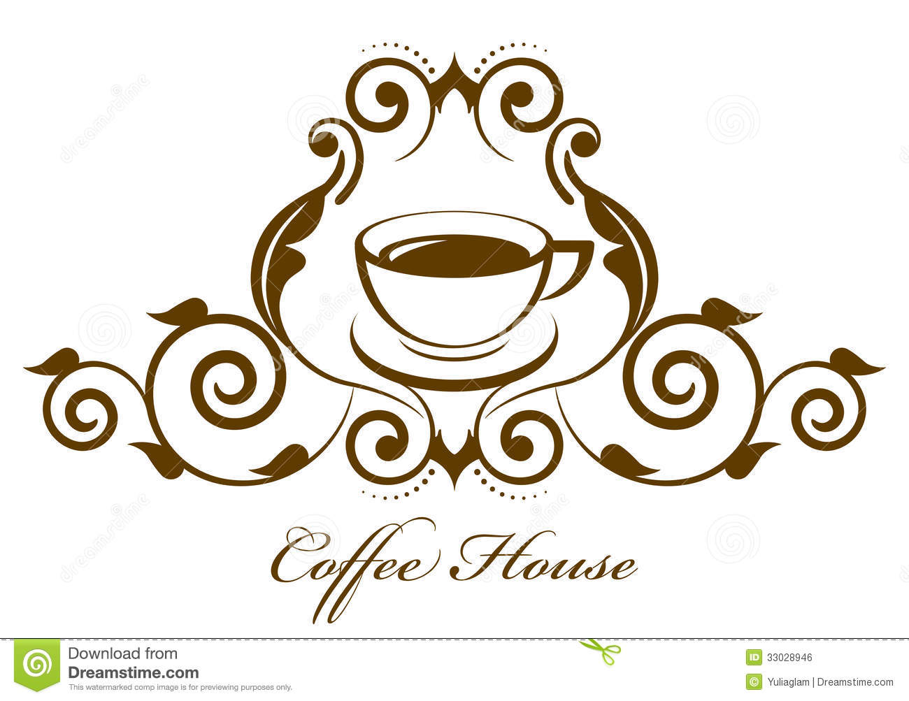 Coffee icon stock vector. Illustration of cafe, logo ...