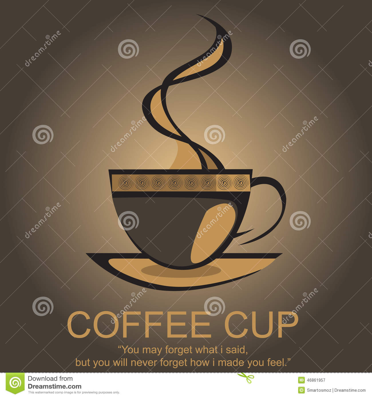 Coffee Logo Stock Vector - Image: 46861957
