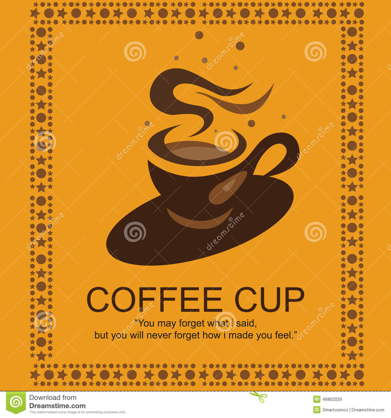 Coffee Logo stock vector. Image of labels, design ...