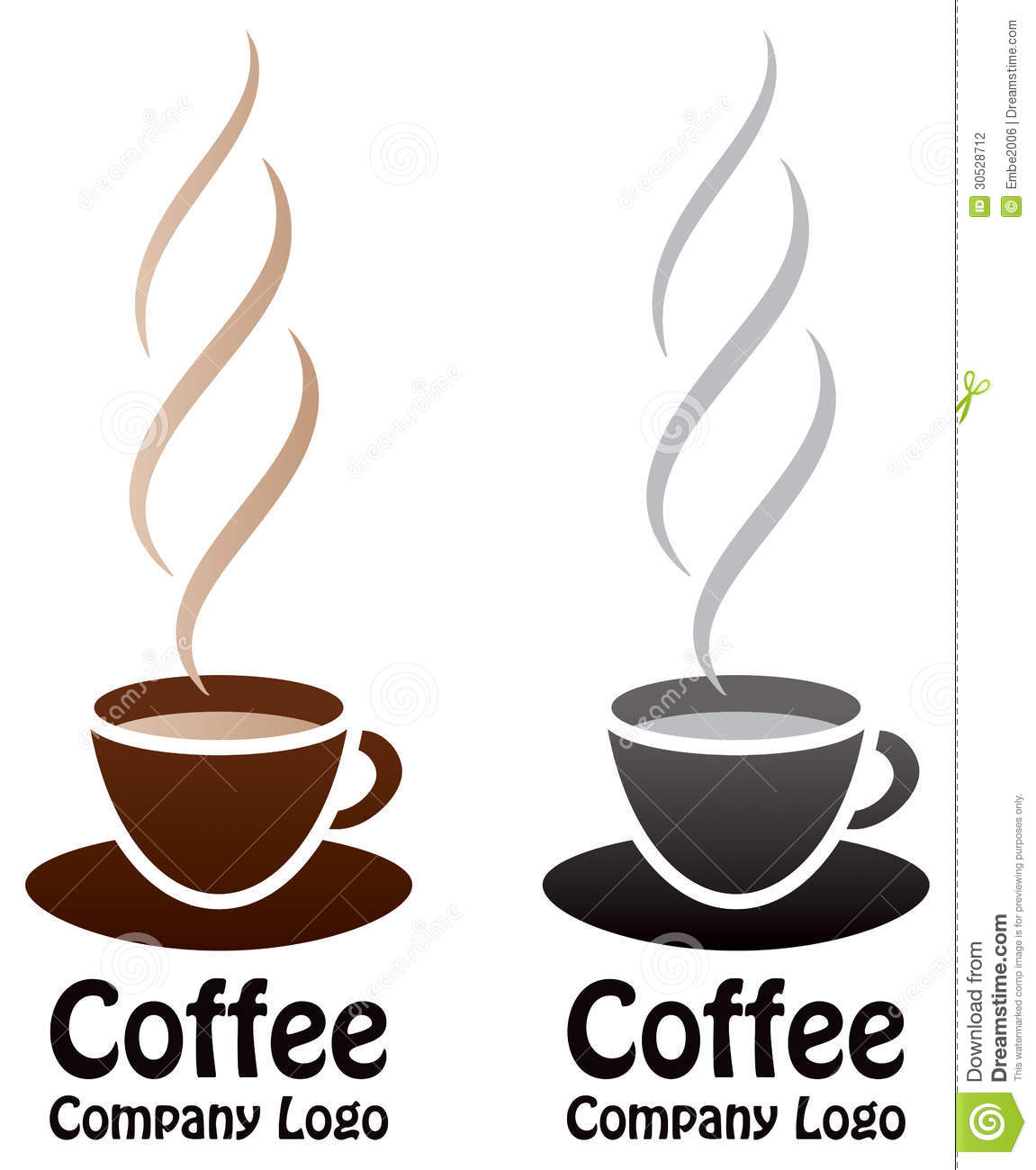 Coffee Logo Stock Photography - Image: 30528712