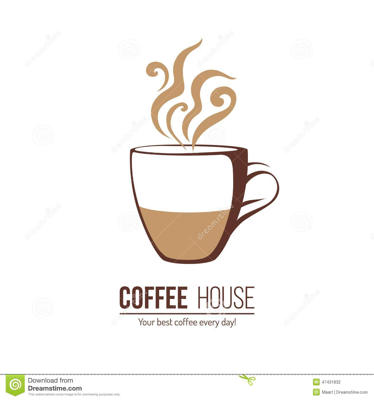 coffee cup logo template - photo #2