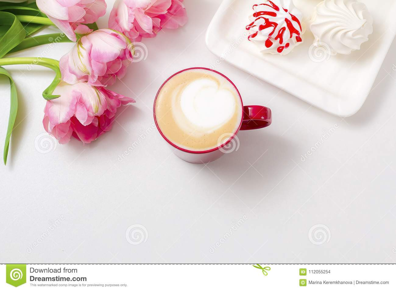 Coffee With Love Stock Photo Image Of Content Inscription 112055254