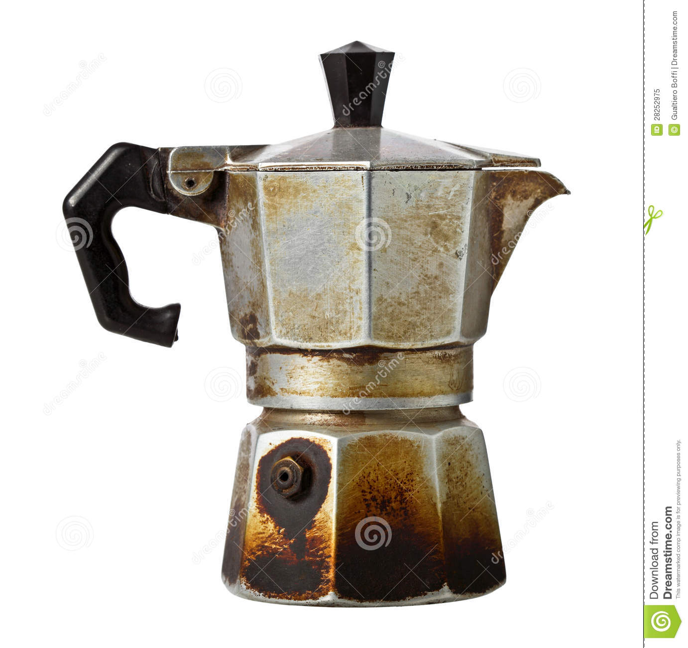 Old Mr Coffee Maker : Coffee Maker Royalty Free Stock Photo - Image: 28252975