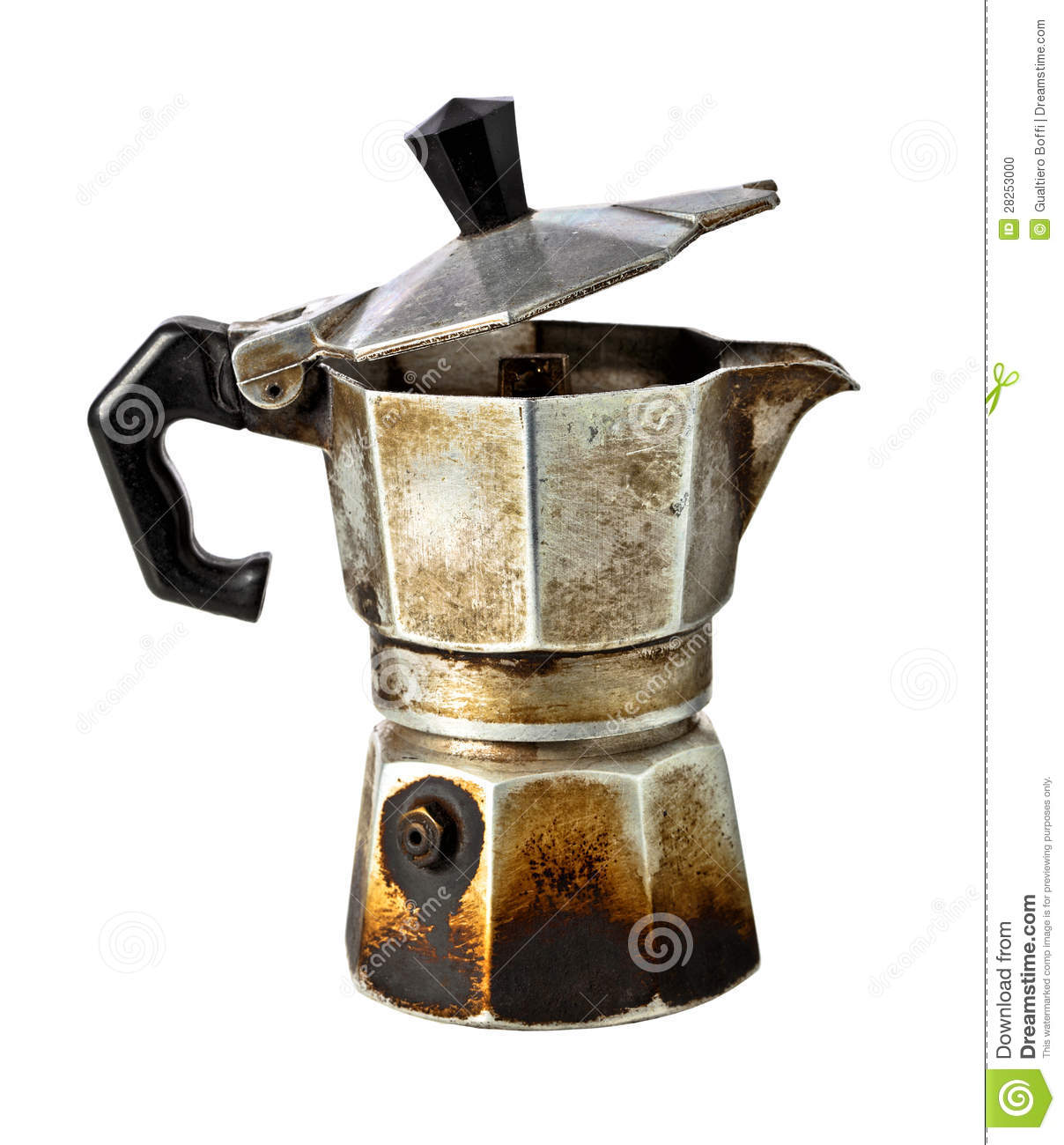 Old Mr Coffee Maker : Coffee Maker Stock Photo - Image: 28253000
