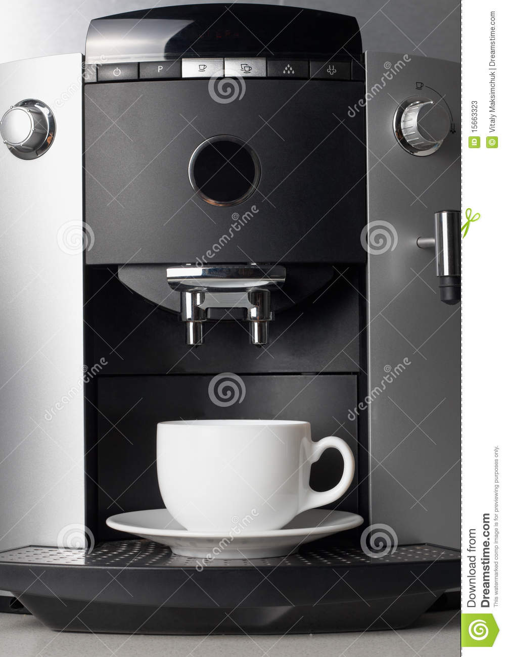 Vector Portable Coffee Maker : Coffee Maker Machine Stock Photos - Image: 15663323