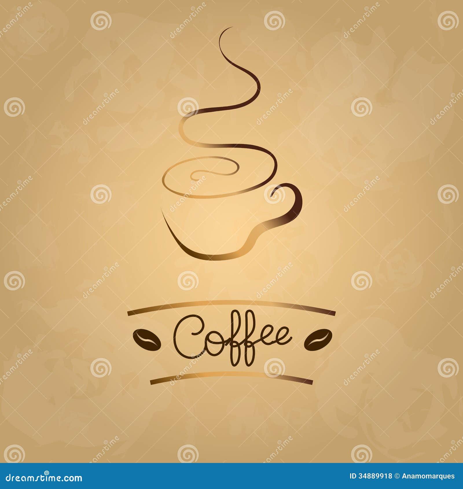 Coffee Menu Stock Vector. Illustration Of Elegance
