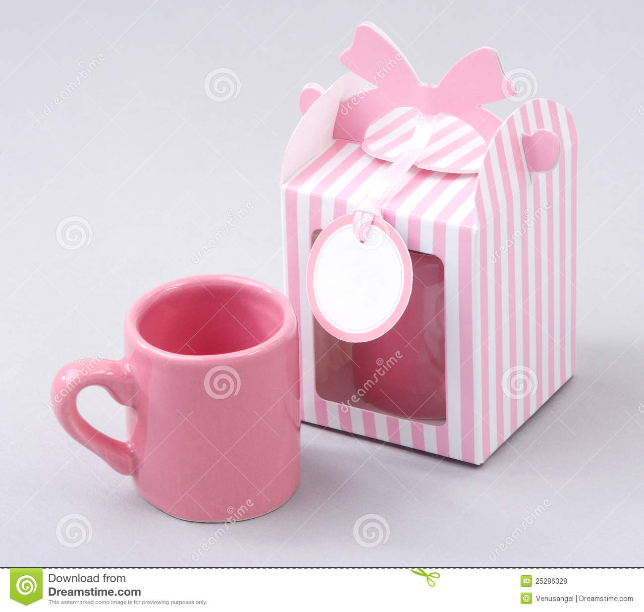 Coffee Mug With Gift Box Stock Photo 25286328 - Megapixl