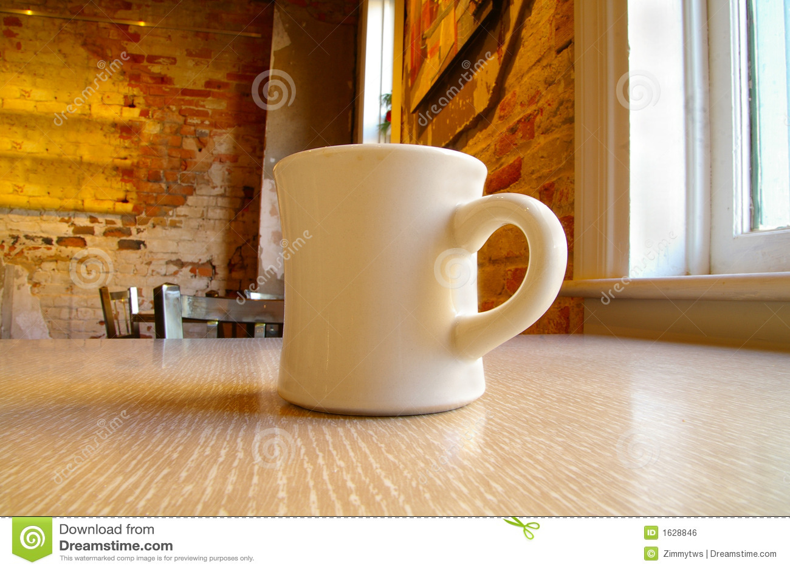 Coffee mug and table stock photo image of buzz italy 1628846 coffee mug and table geotapseo Gallery