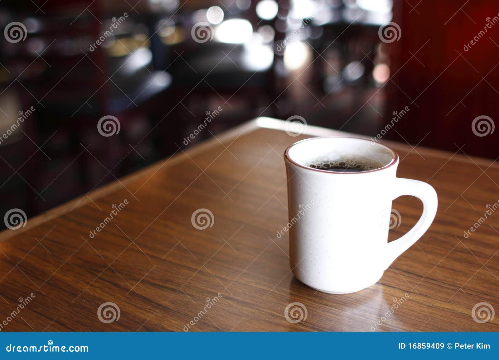 Coffee mug on table stock image image of inside table 16859409 coffee mug on table geotapseo Gallery