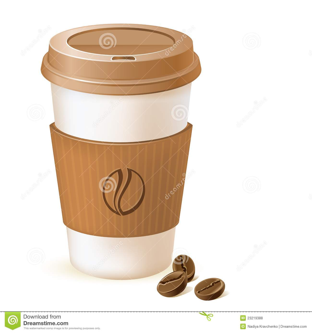 Coffee Paper Cup Royalty Free Stock Photos Image 23219388