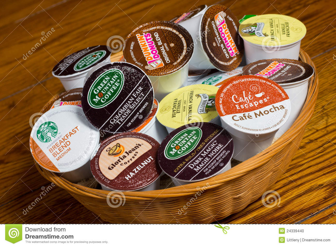 Coffee Pods K Cups Editorial Image Image Of Roasters