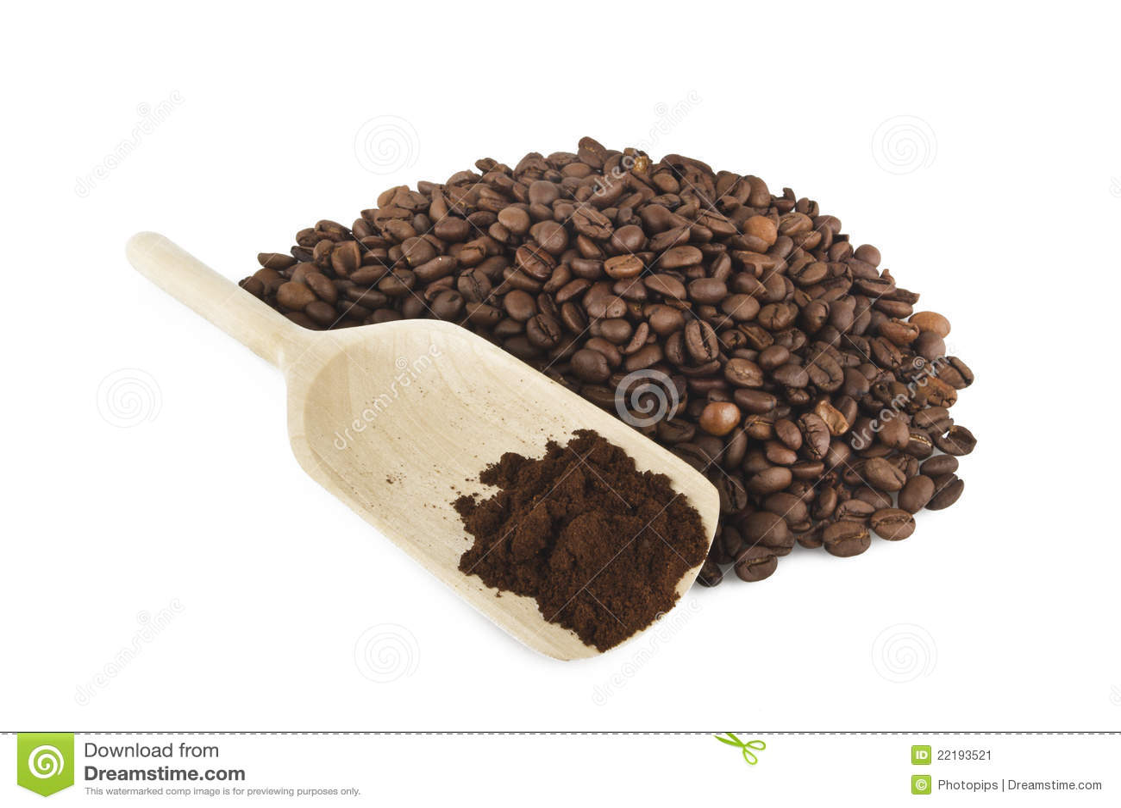 Coffee Powder Stock Image - Image: 22193521
