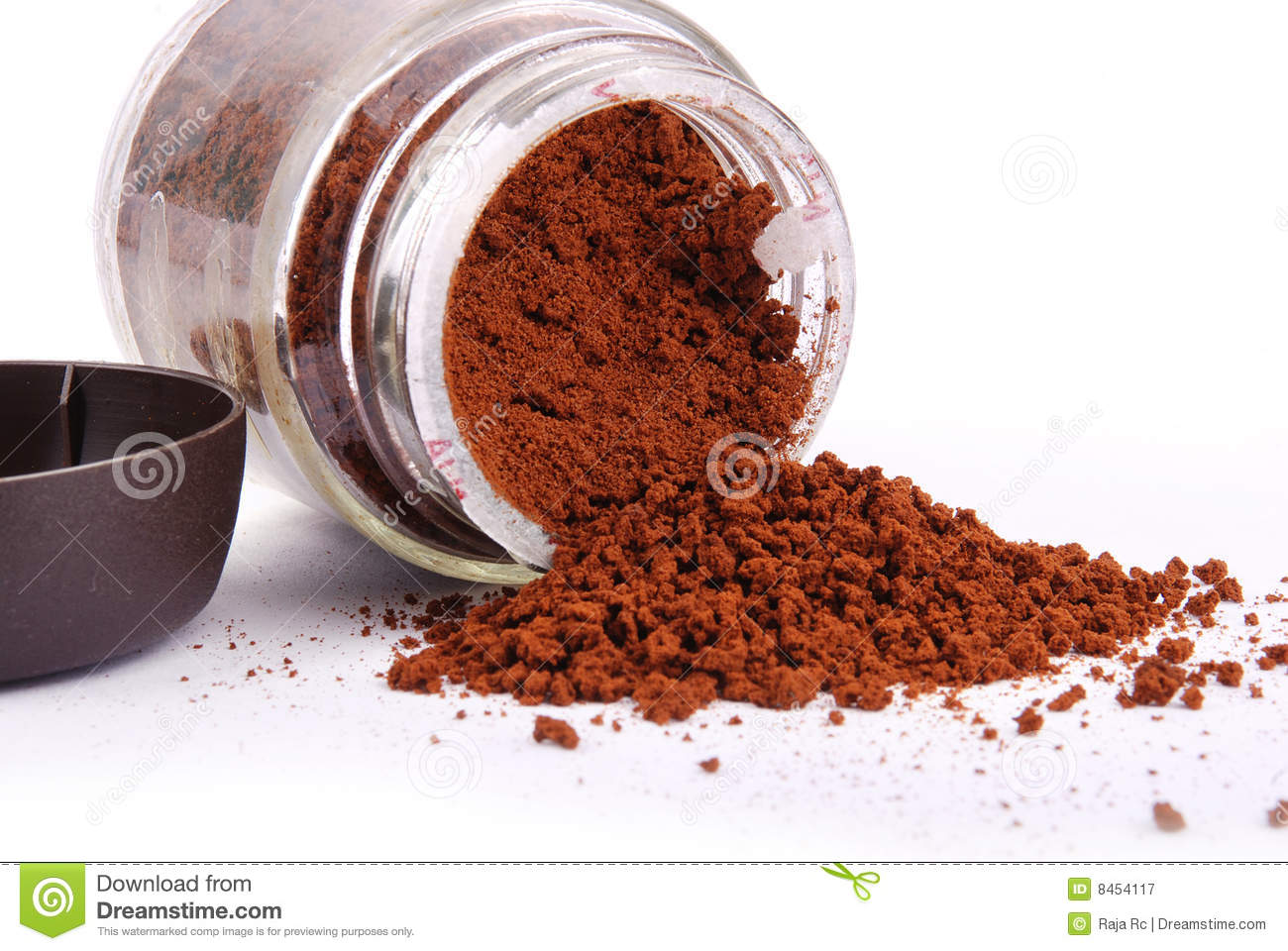 Coffee Powder Royalty Free Stock Photography Image 8454117