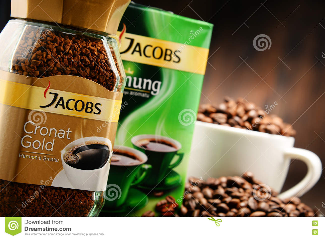 Coffee products of jacobs douwe egberts editorial stock for Amsterdam products