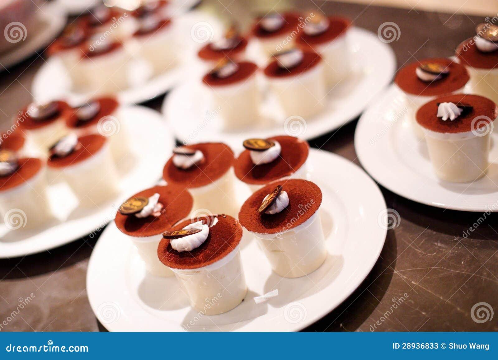 Coffee Pudding Cake Stock Photos - Image: 28936833