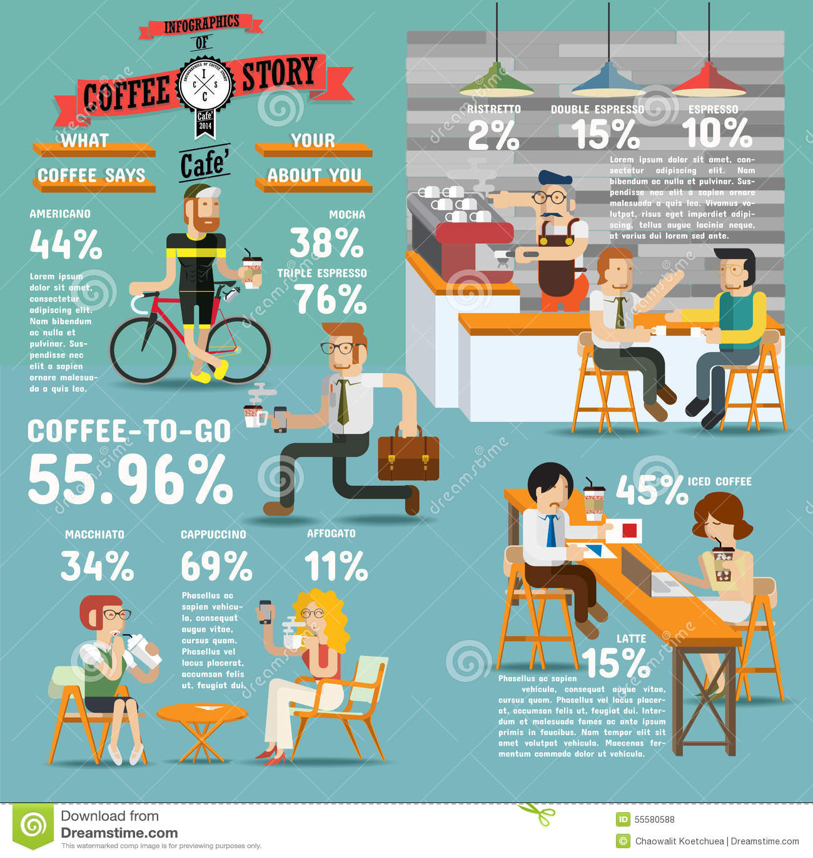 Coffee Design Elements Vector Illustration