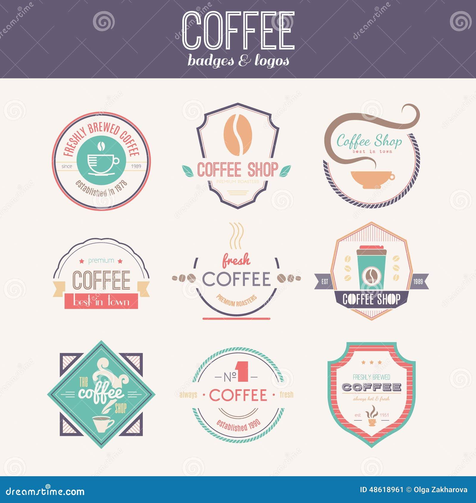 Art logo logo s coffee logo coffee shop coffee design shop logo coffee - Coffee Collection Design Logo Logotype Quality Restaurant Retro Set Shop