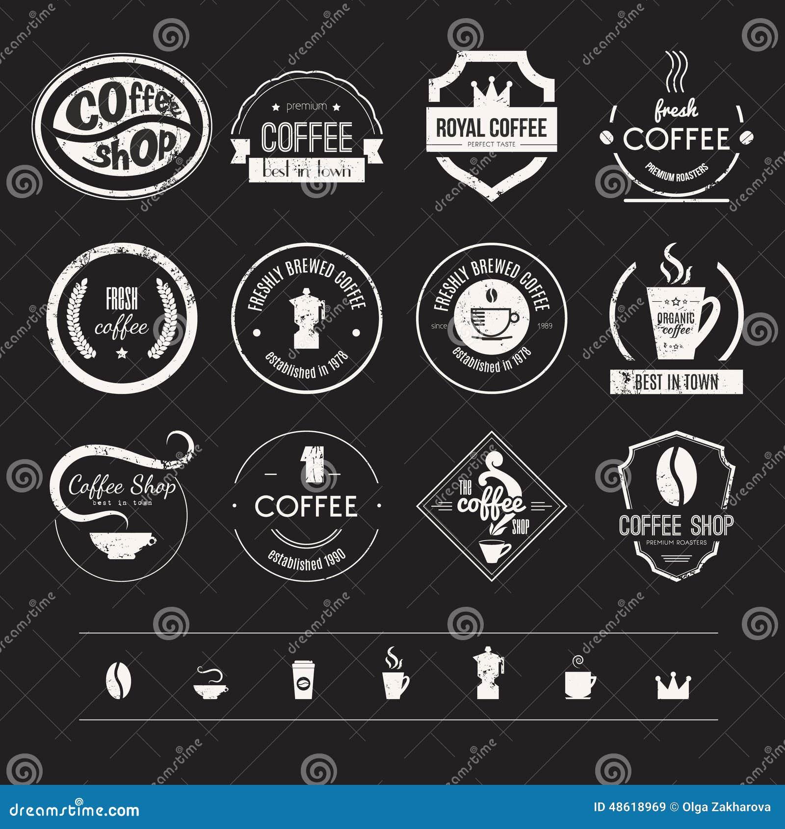 Modern coffee shop logos gallery