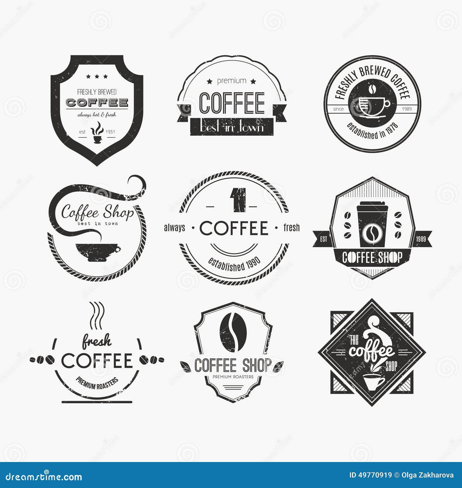 Art logo logo s coffee logo coffee shop coffee design shop logo coffee - Coffee Collection Design Logo Logotype Quality Restaurant Retro Set Shop Vintage Traditional Stamp Art