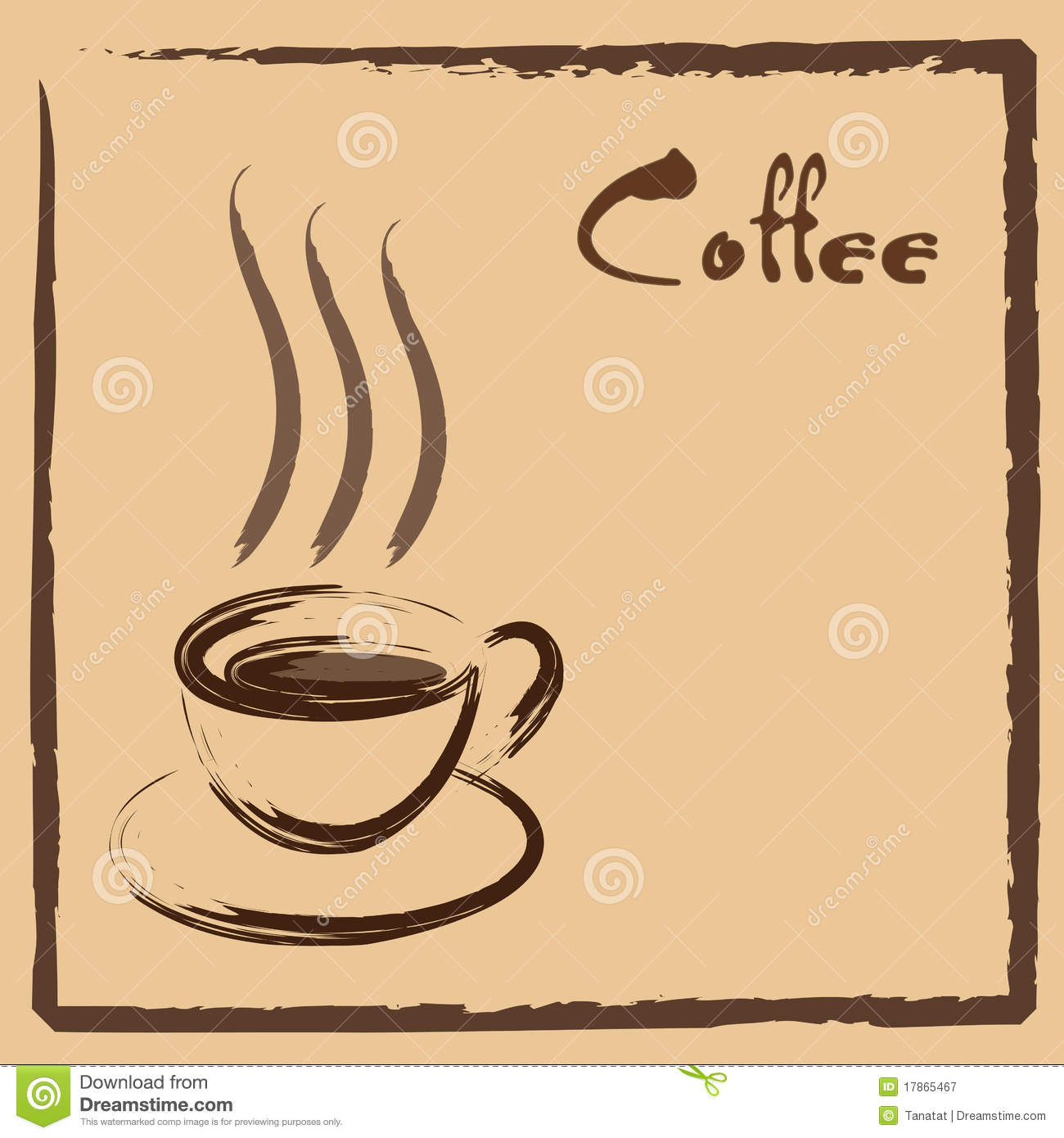 Coffee Sign Royalty Free Stock Photography - Image: 17865467