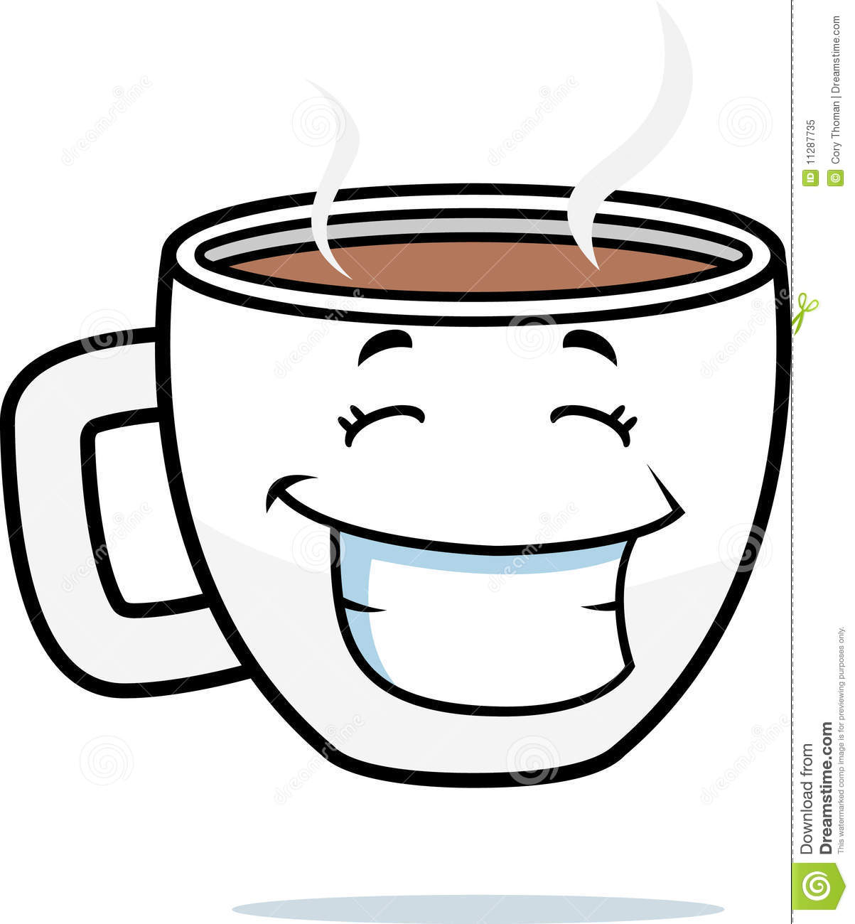 Coffee Smiling Royalty Free Stock Photo - Image: 11287735