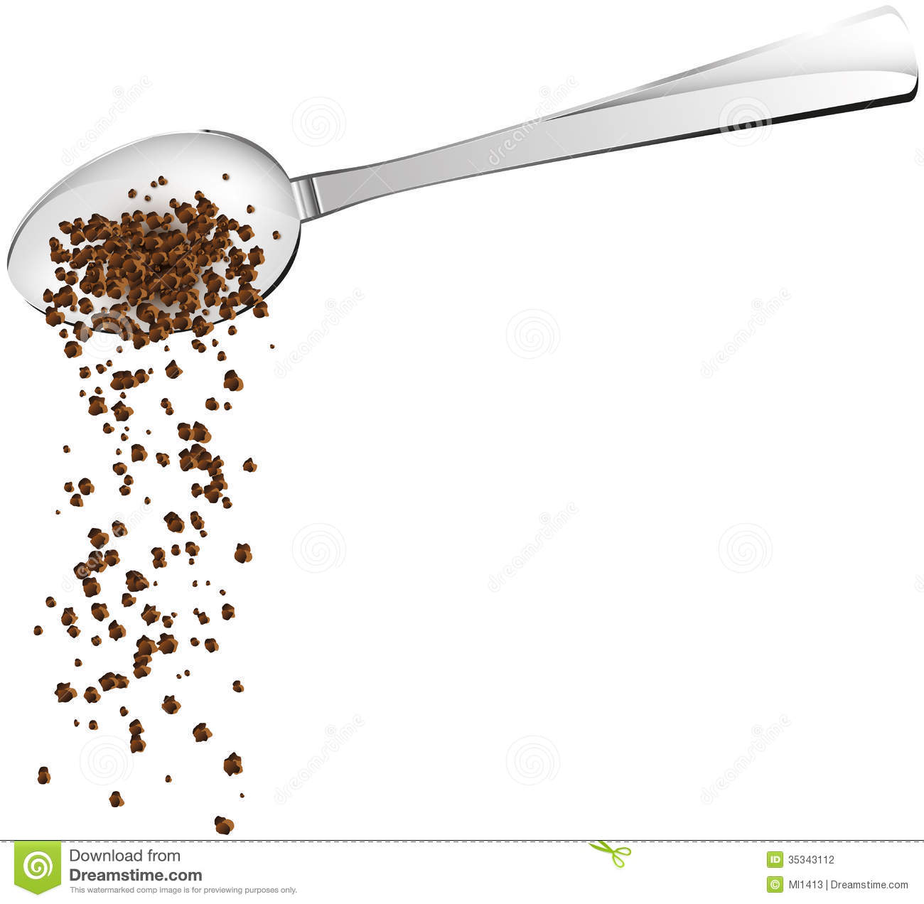 Coffee Spoon Stock Photography Image 35343112