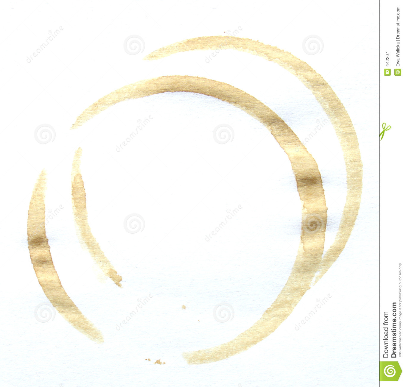 Coffee stain stock image. Image of backdrop, beverage ...