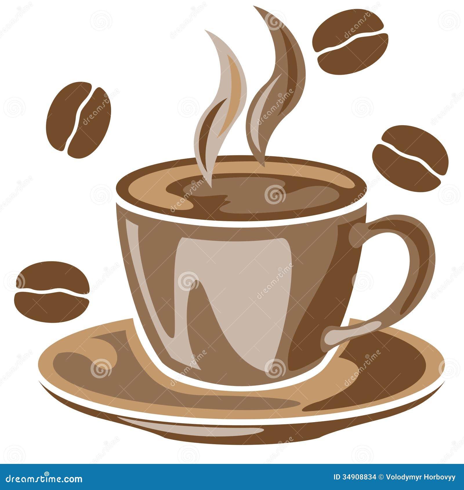 Brown Coffee Mug Set
