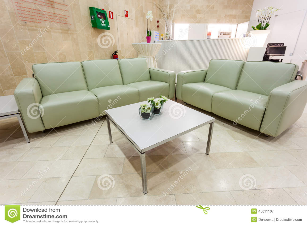 Coffee Table And Seats Stock Photo Image 45011107