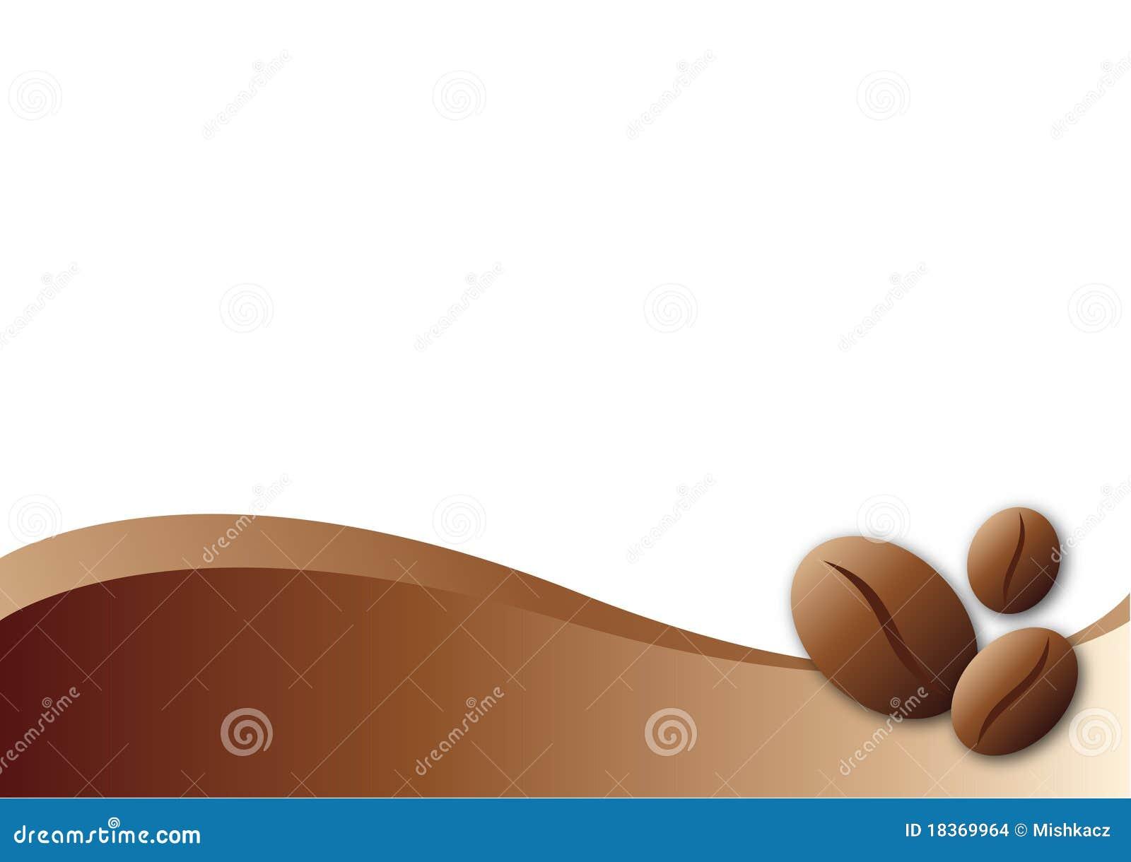 coffee template background stock vector illustration of drink 18369964. Black Bedroom Furniture Sets. Home Design Ideas