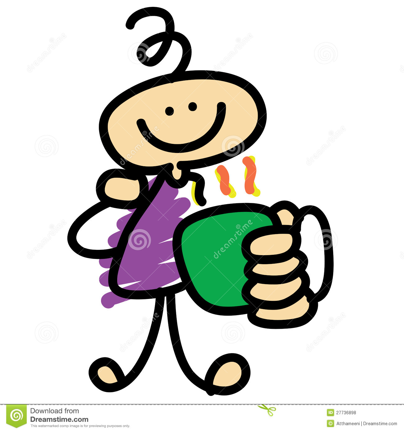 coffee time cartoon character hand drawn royalty free teacup clip art to download for free tea cup clip art printable free