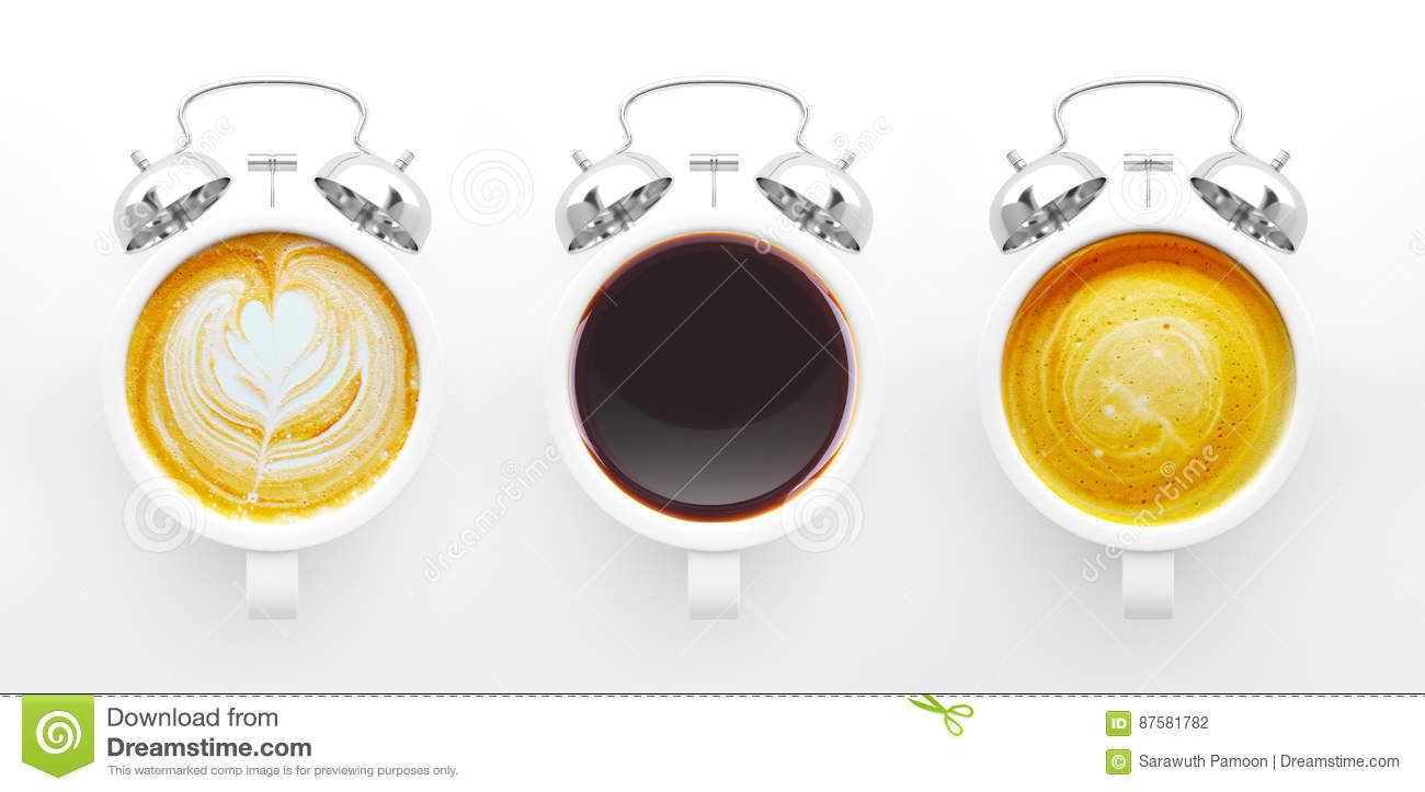 Coffee time concept.
