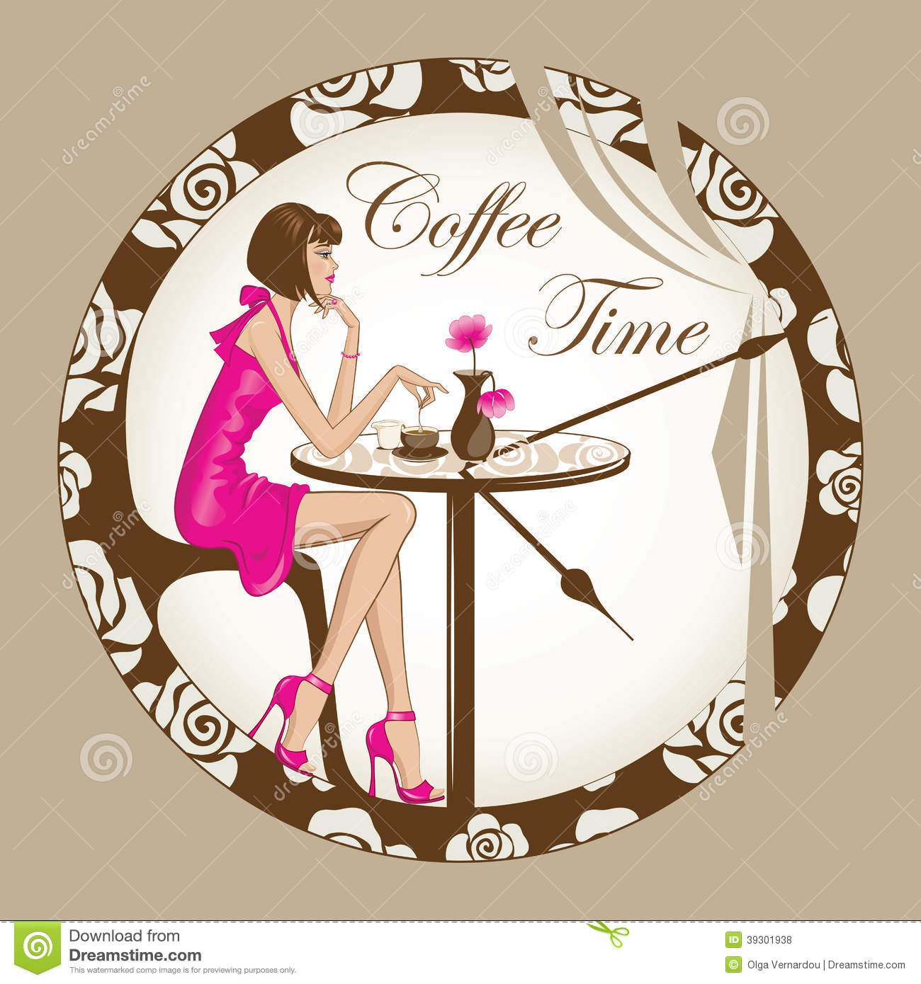 clipart coffee time - photo #18