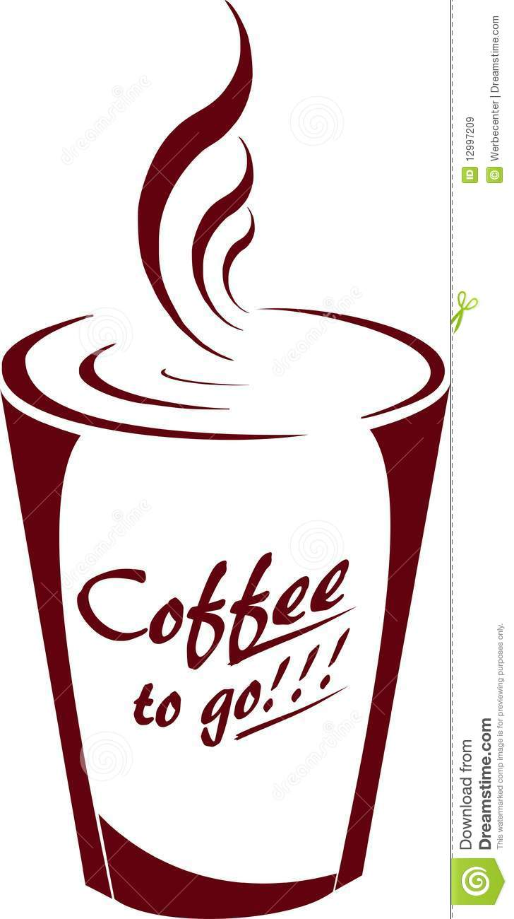 Coffee to go royalty free stock images image 12997209 for Coffee to go