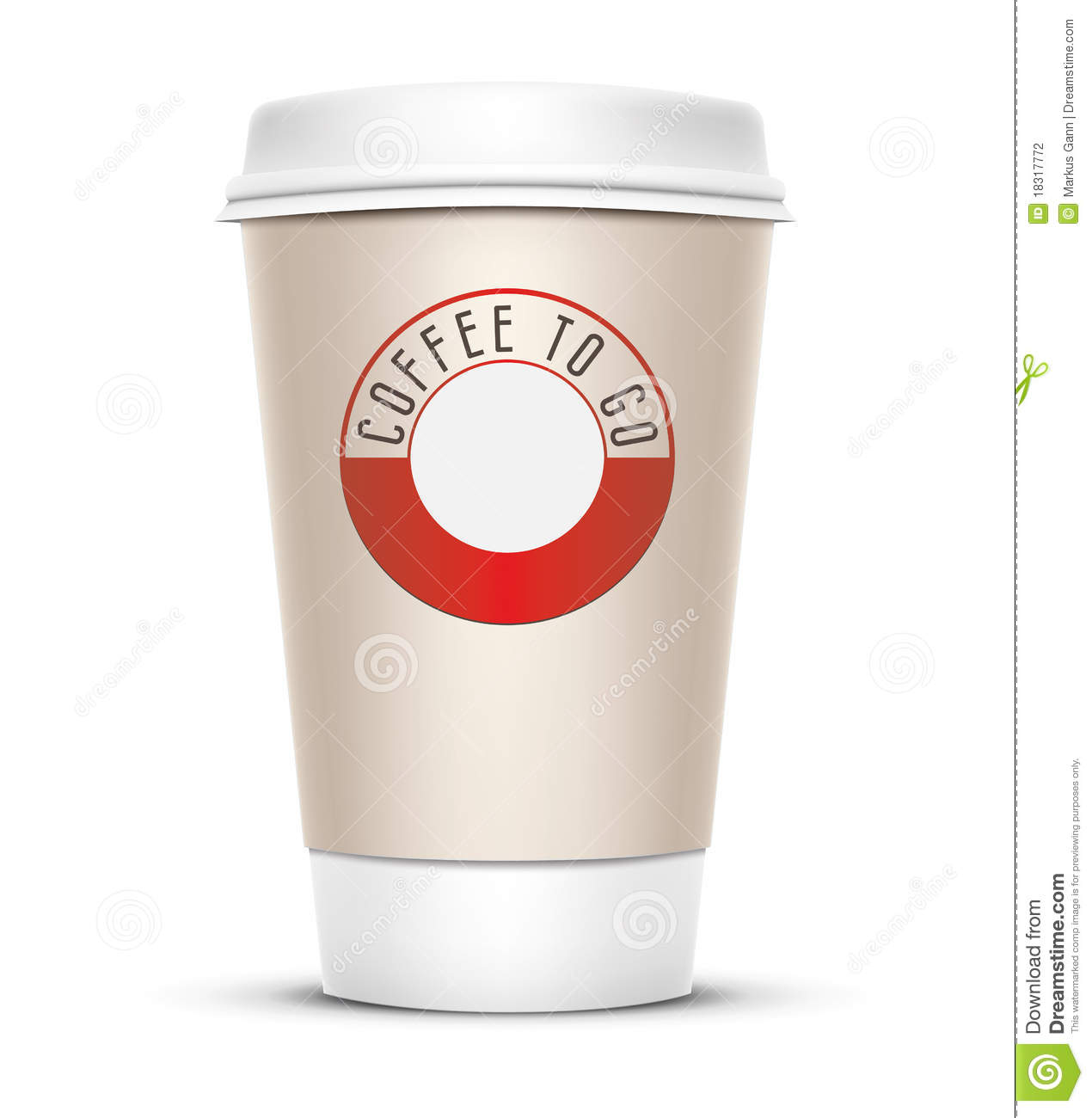 Coffee to go stock photography image 18317772 for Coffee to go