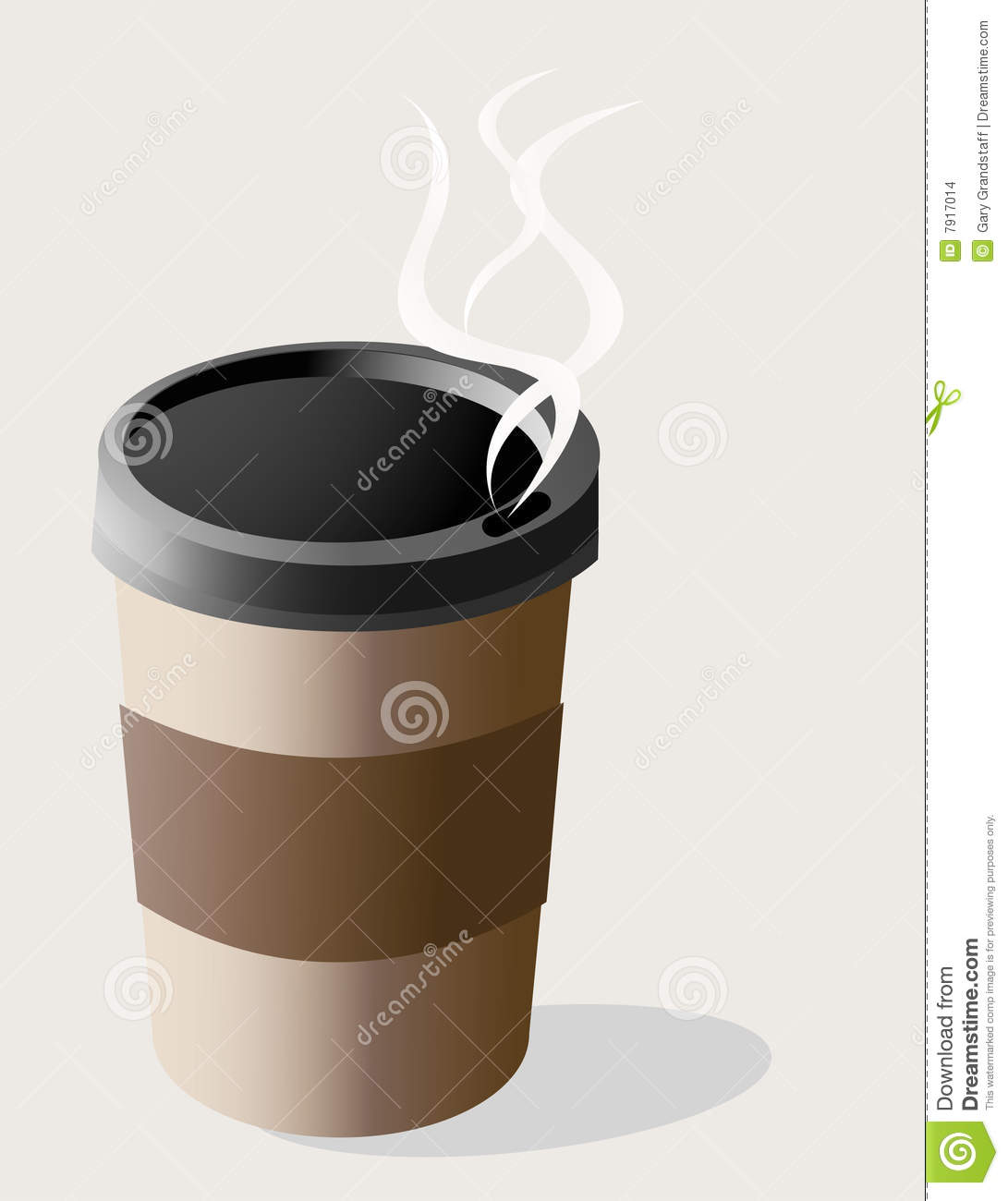 Coffee to go cup stock images image 7917014 for Coffee to go