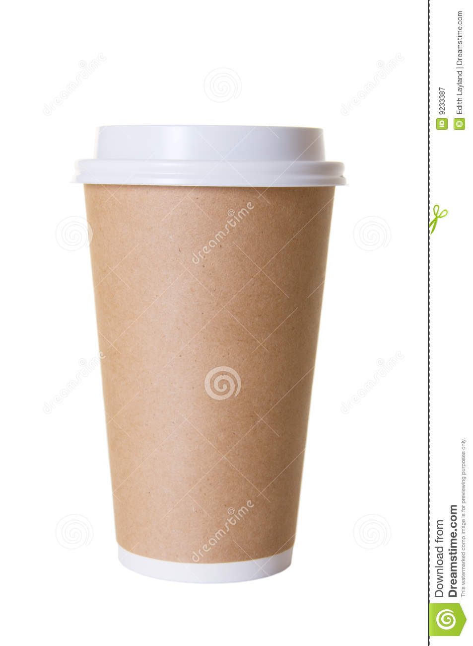 Coffee to go cup isolated royalty free stock photography for Coffee to go