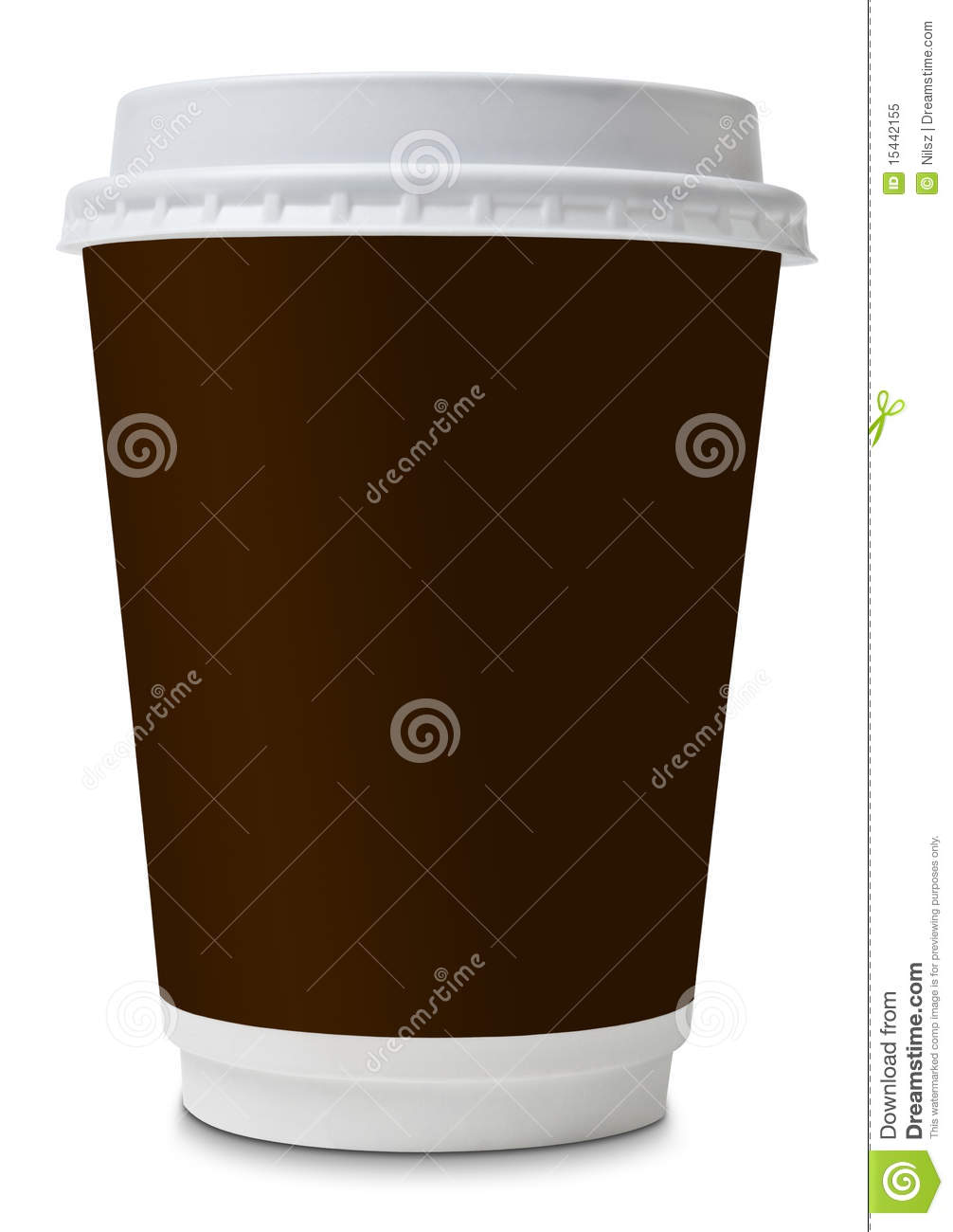 Coffee to go paper cup stock image image of brown cafe for Coffee to go